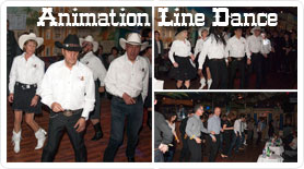 animation western Line Dance